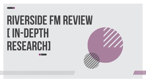 Riverside FM review