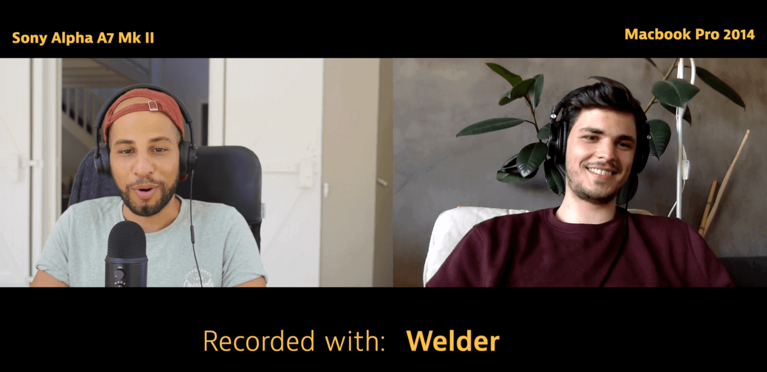 Welder picture quality